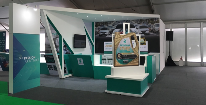 Petronas F1 Exhibition Management Services Exhibition Booth Design Malaysia Qube