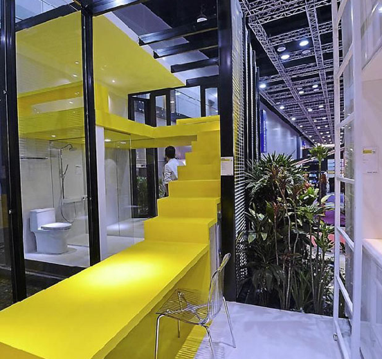 Exhibition Booth Supplier Singapore : Homedec exhibition management services