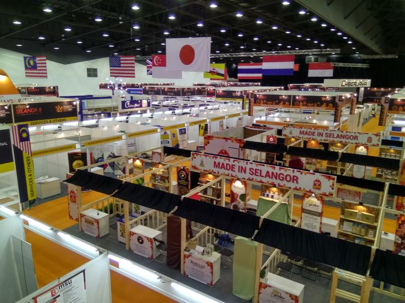 Exhibition Booth Supplier Singapore : Homedec exhibition management services
