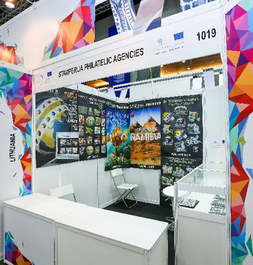 Exhibition Booth Supplier Singapore : World youth stamp exhibition management